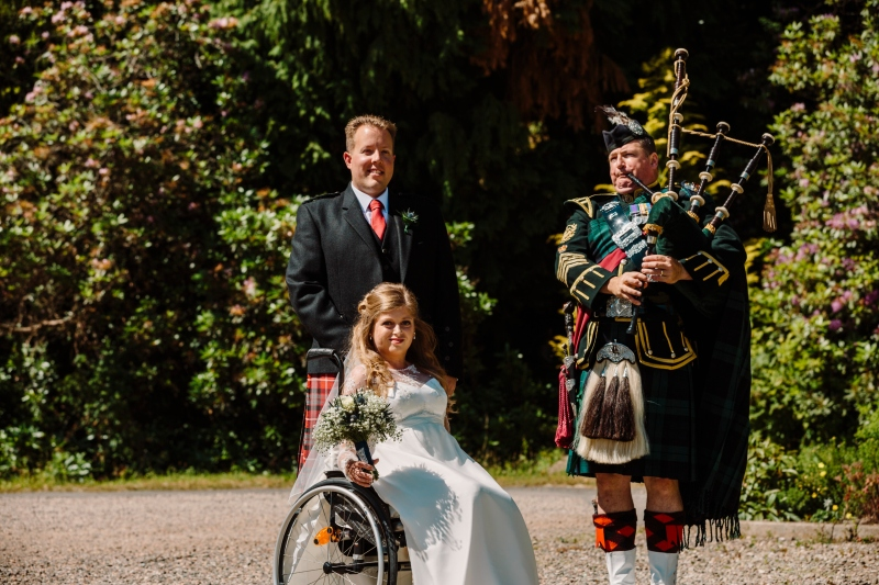 wheelchair bride