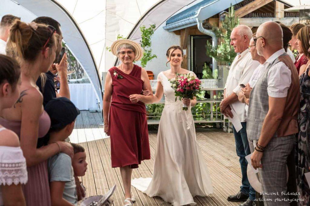 French Irish wedding