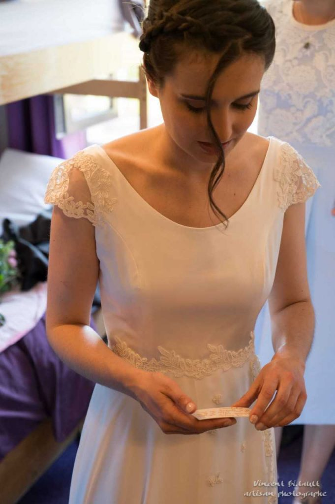 French bespoke bride