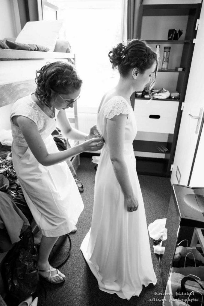 bespoke wedding dress French - Irish Wedding