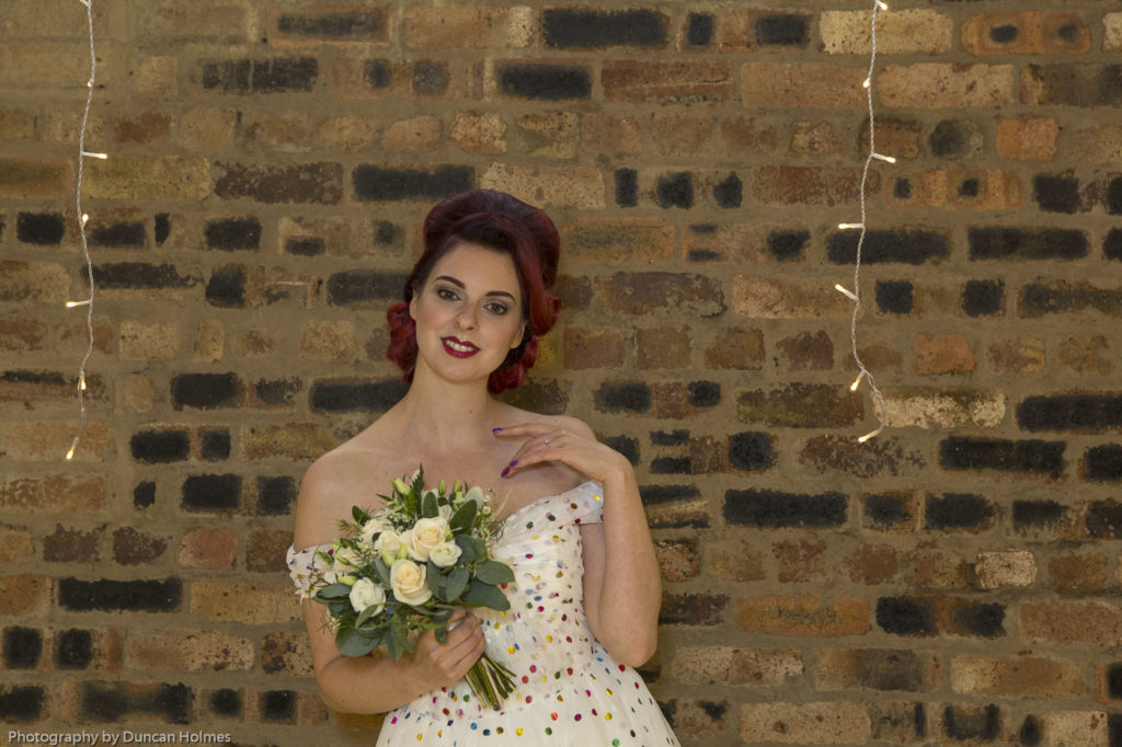 bridal photoshoot in fife