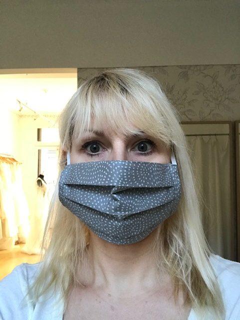 Pewter facemask