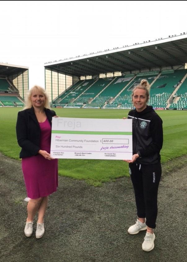 GGTTH Charity money handover