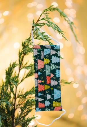 Christmas Facemask x-mas Trees