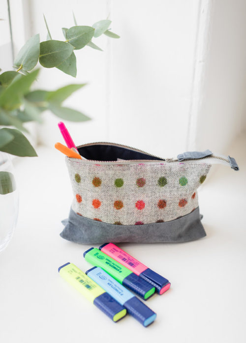 wash bag, pencil case, makeup purse