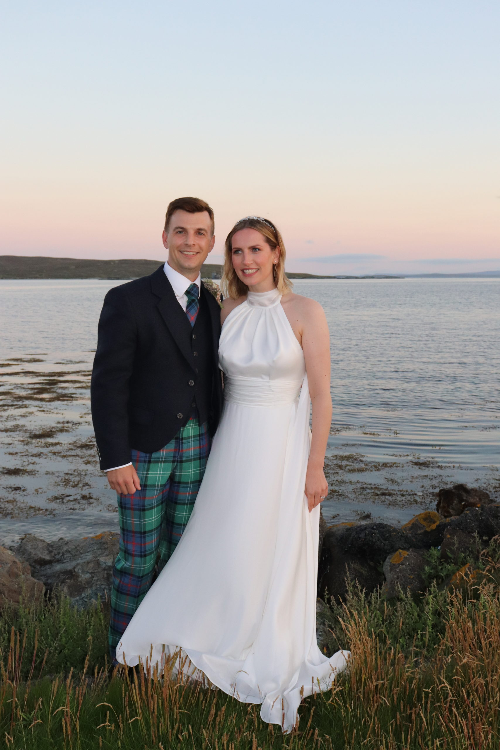 micro wedding in Shetland