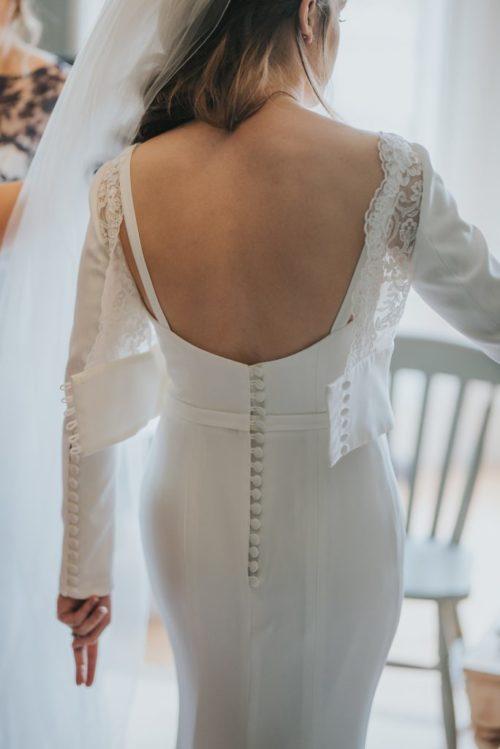 Meghan Wedding dress and jacket