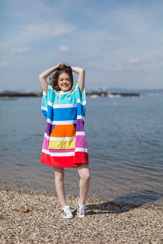 changing robe rainbow