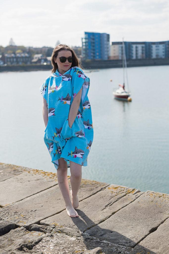 beach robe shark