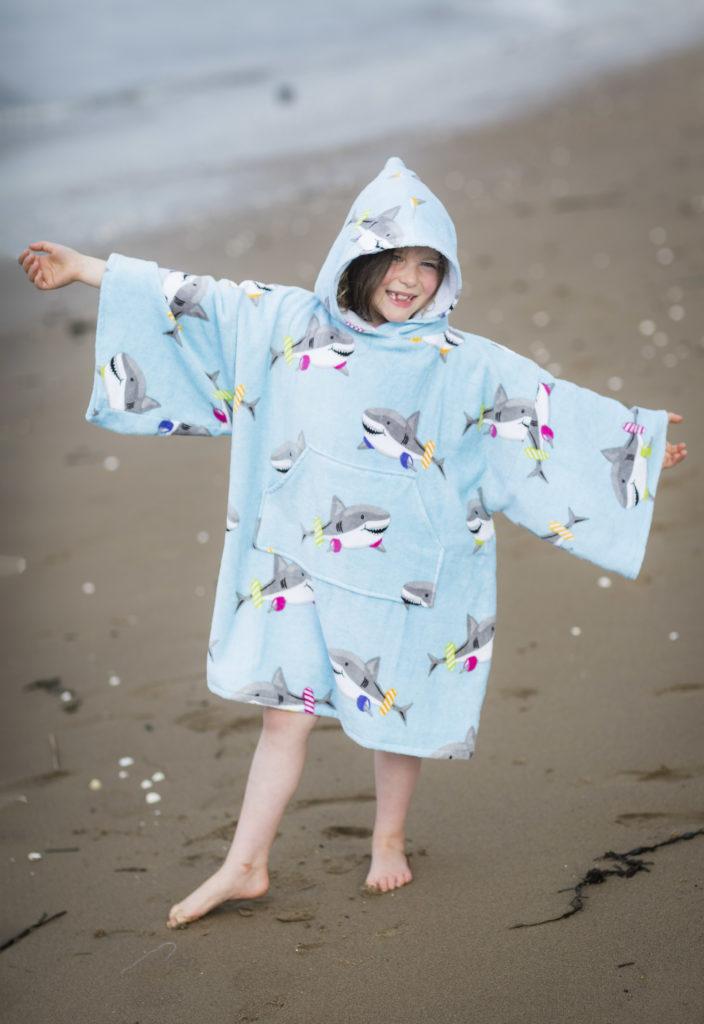 shark drying robe