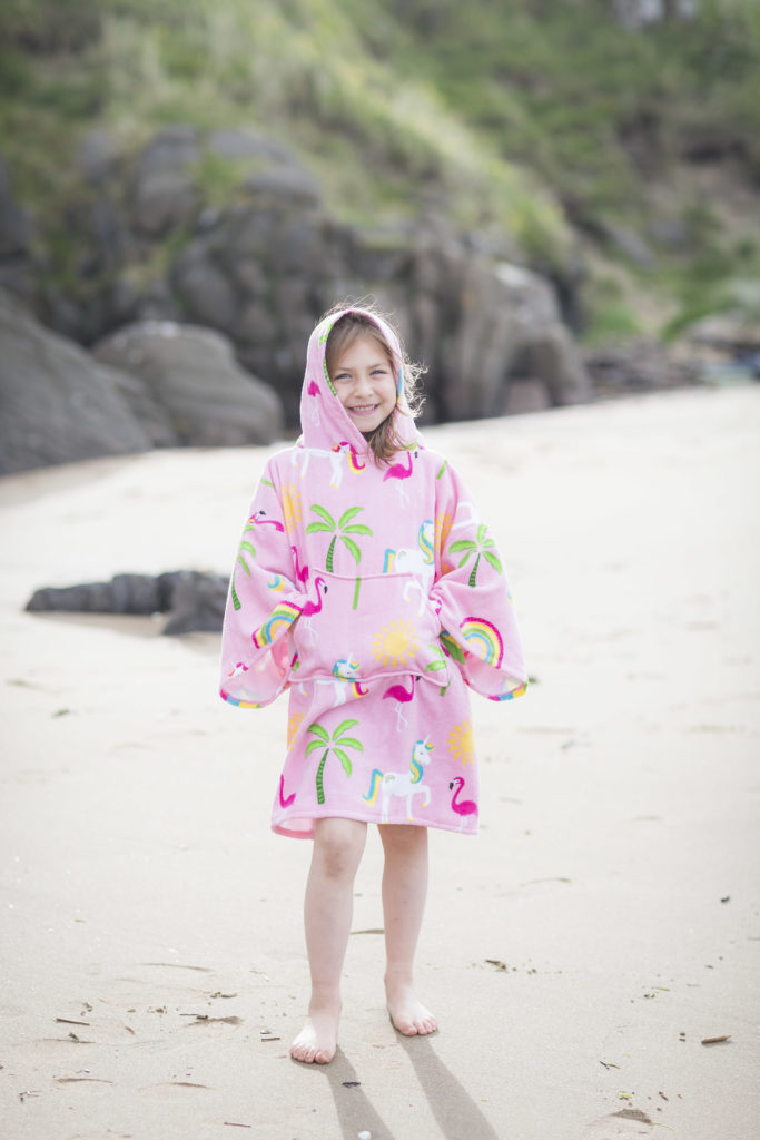 changing robe in pink