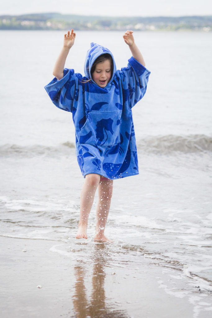 sea creature beach robe