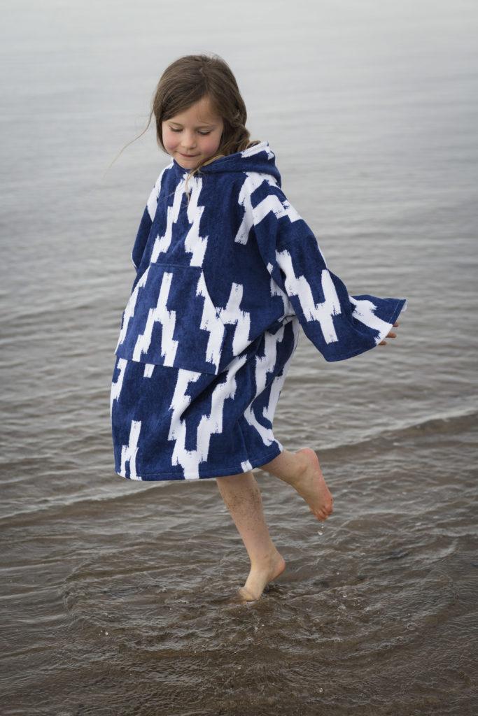 changing robe aztec design