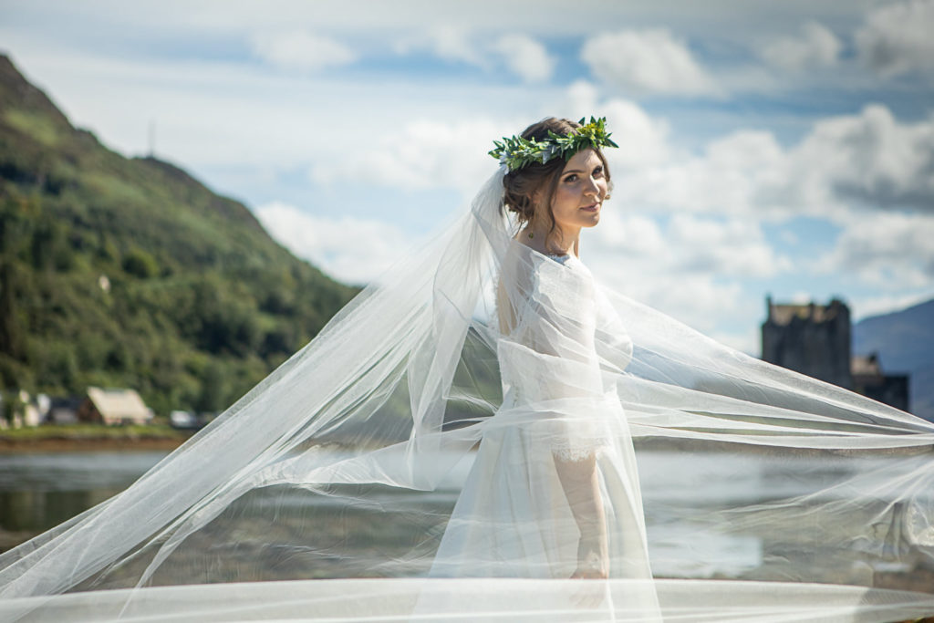 Beautiful skye bride