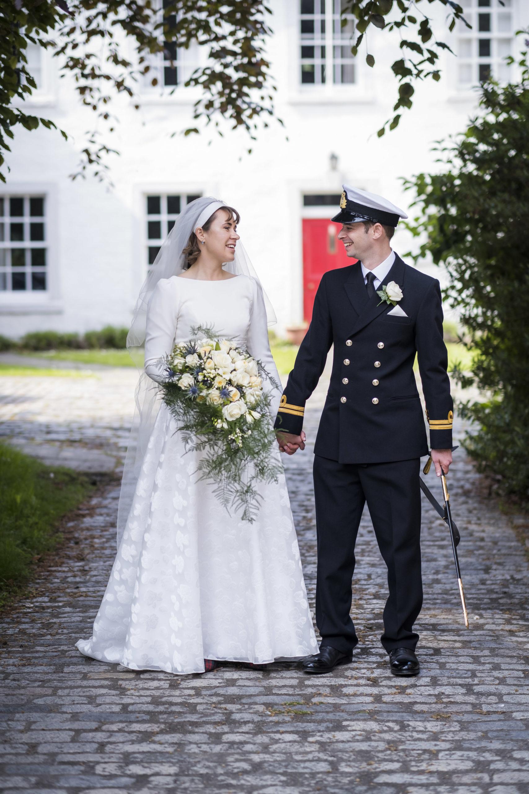 Uniform wedding