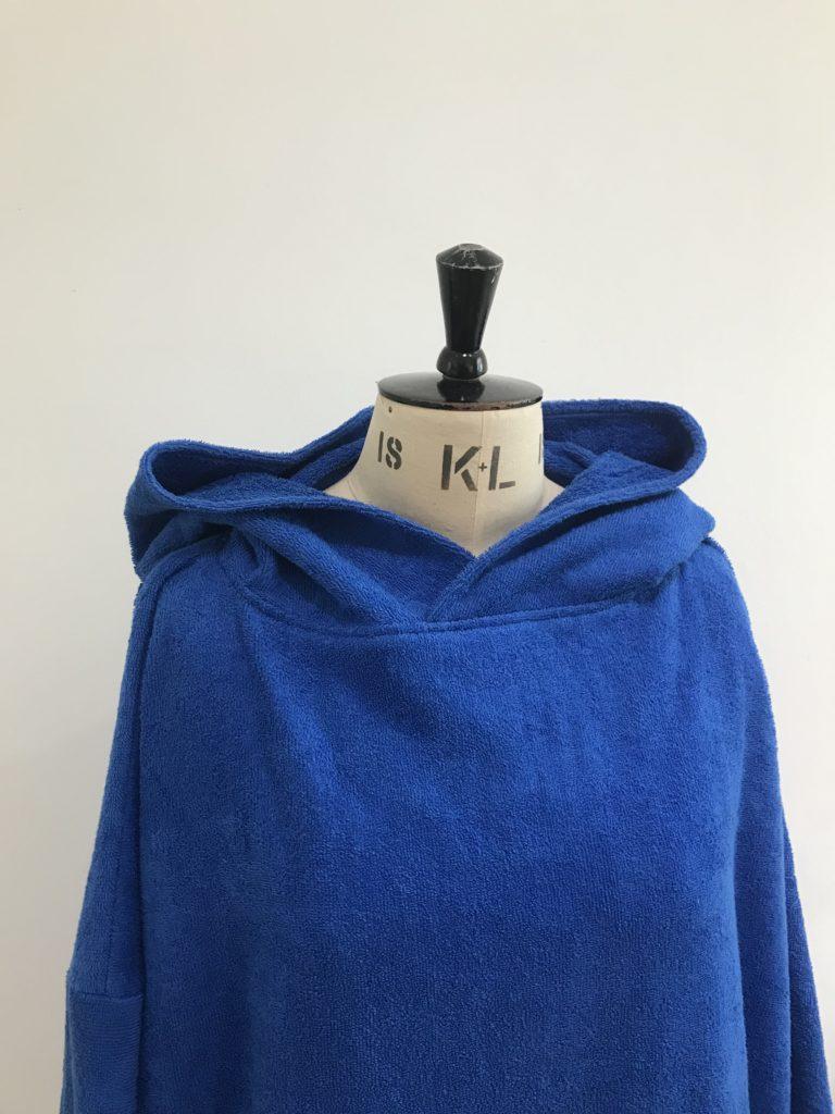 Extra large drying robe royal blue