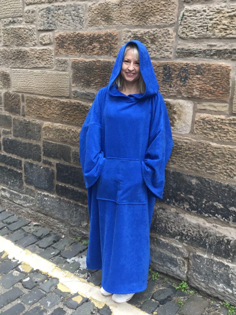 royal blue changing robe