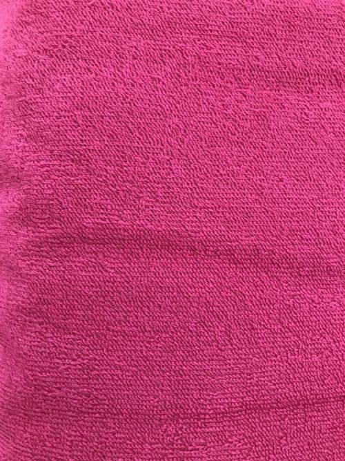 changing towel fuchsia pink