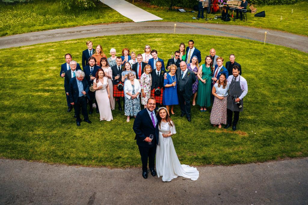 lake district garden wedding