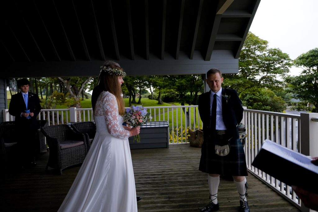first glimpse micro wedding