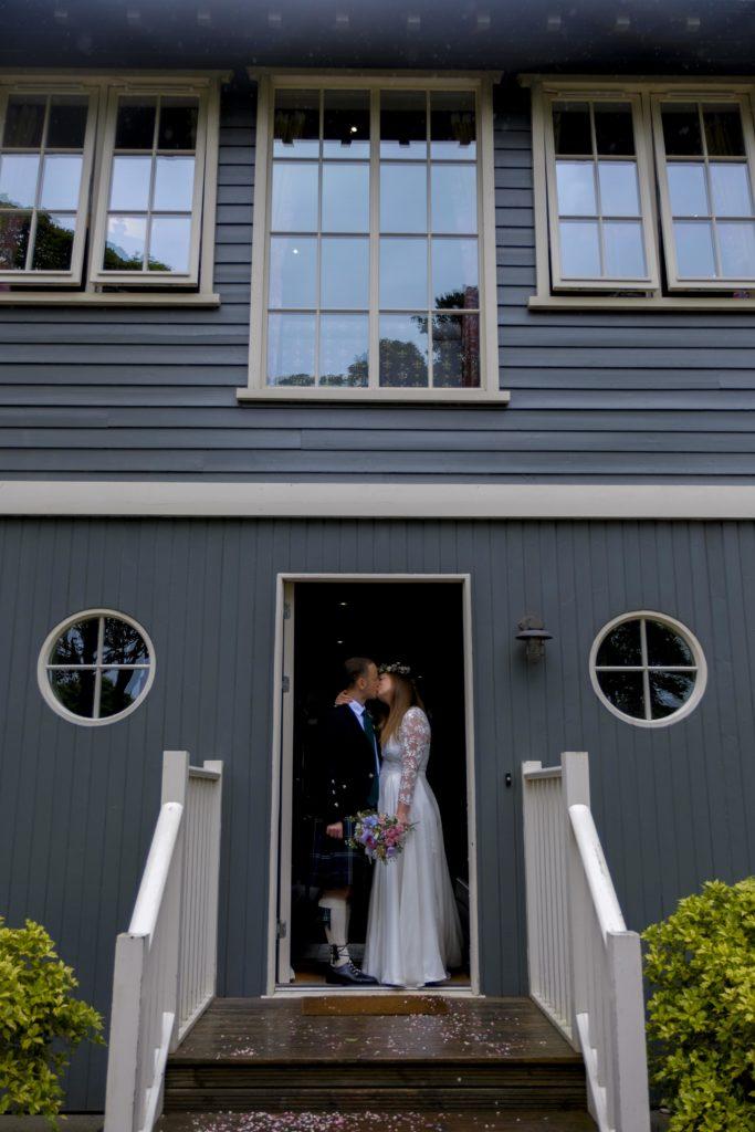 boat house wedding archerfield