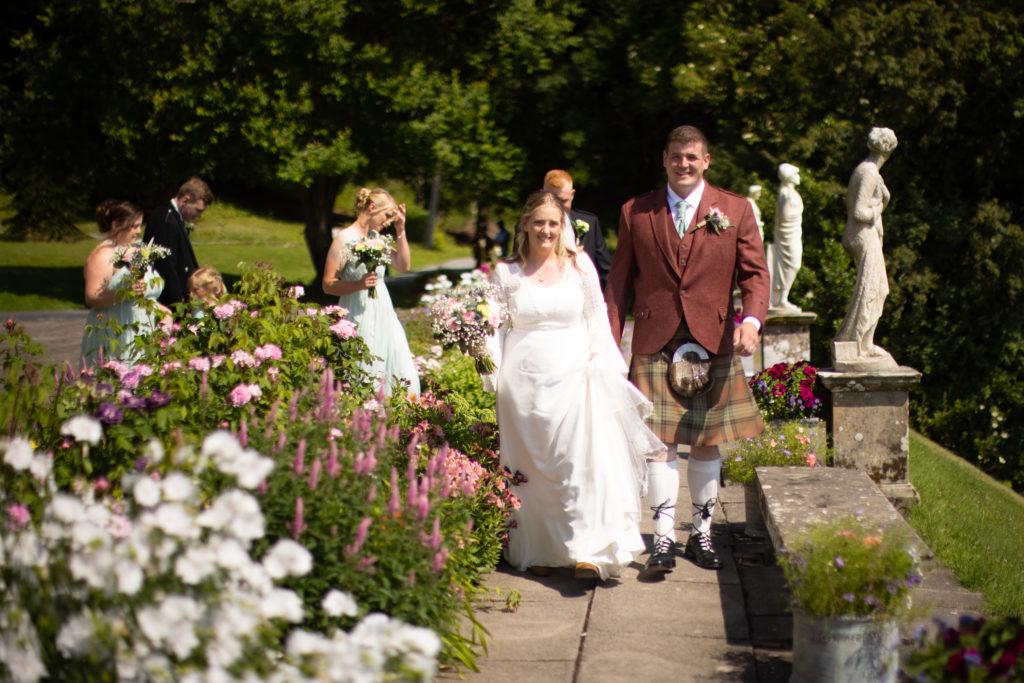 garden wedding The Hainings