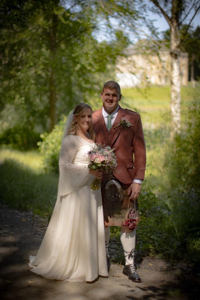 Scottish Garden Wedding